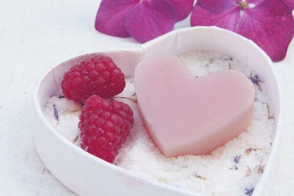 Romantic Floral Soap